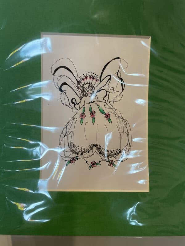 buy original drawings, buy angel drawings, buy catholic drawings