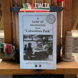 books about kenosha, books about columbus park kenosha, memories of kenosha wi